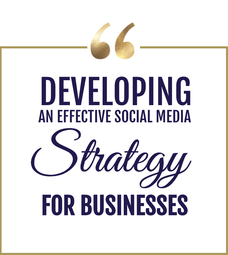LEVERAGE SOCIAL MEDIA TO ACHIEVE BUSINESS OBJECTIVES   Effective social media marketing doesn't happen by chance.   Click here to learn more about Social Media Strategy Development