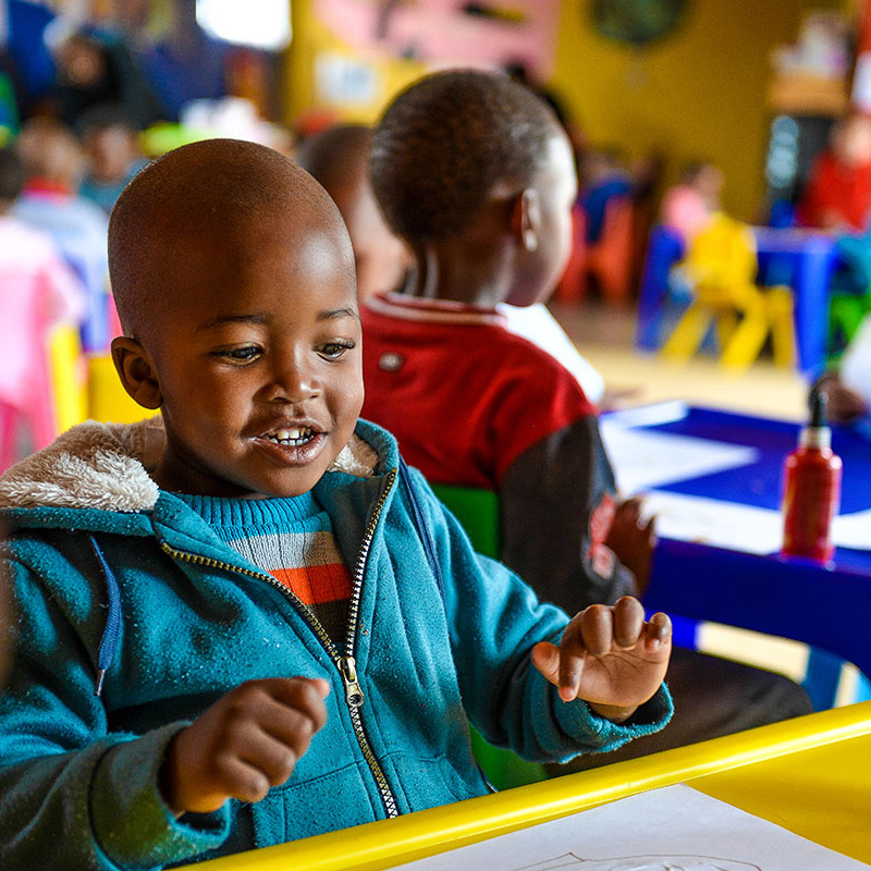 Scaling ECD in South Africa - This initiative aims to strengthen the early childhood development eco-system to enable universal ECD access.