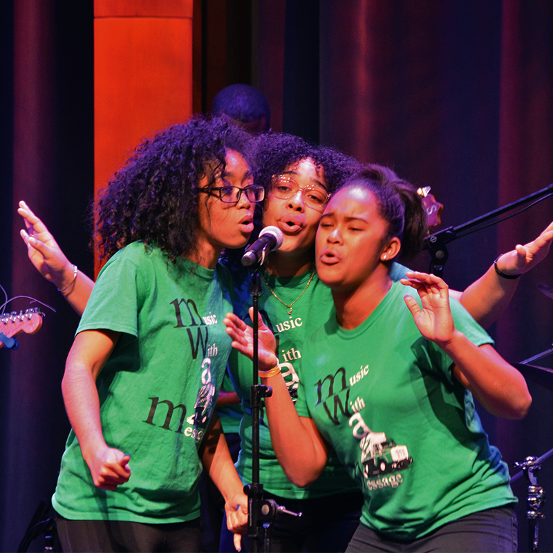 Special Initiative - The Music & Youth Development Alliance, (MYDA) is a nation-wide coalition of community-based organizations that use music as a youth development tool