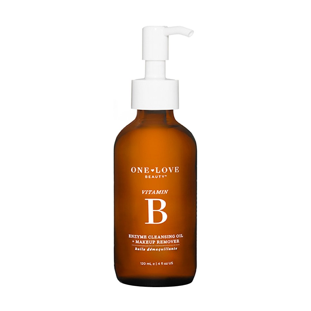 facial cleansers one love organics vitamin b enzyme cleansing oil