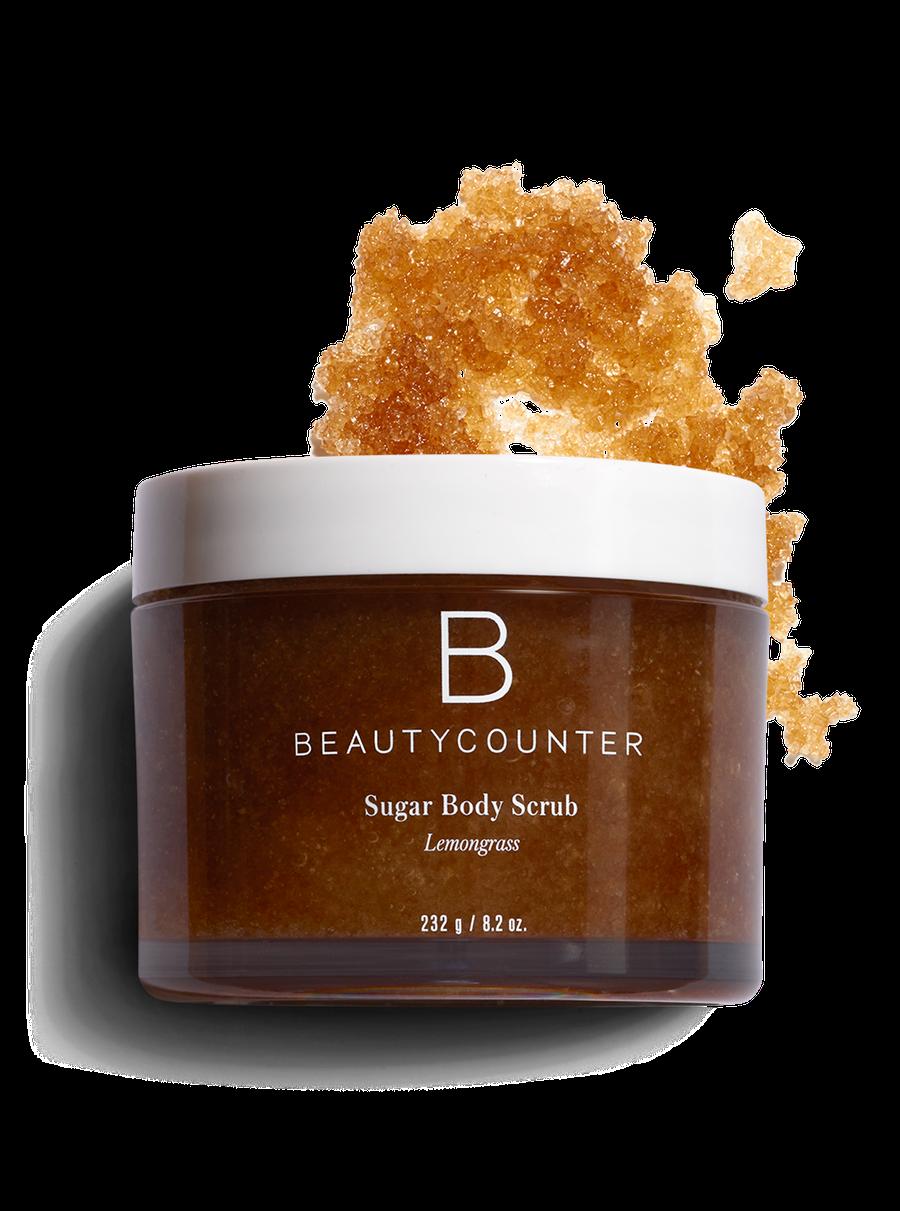 natural body scrubs beautycounter sugar body scurb lemongrass