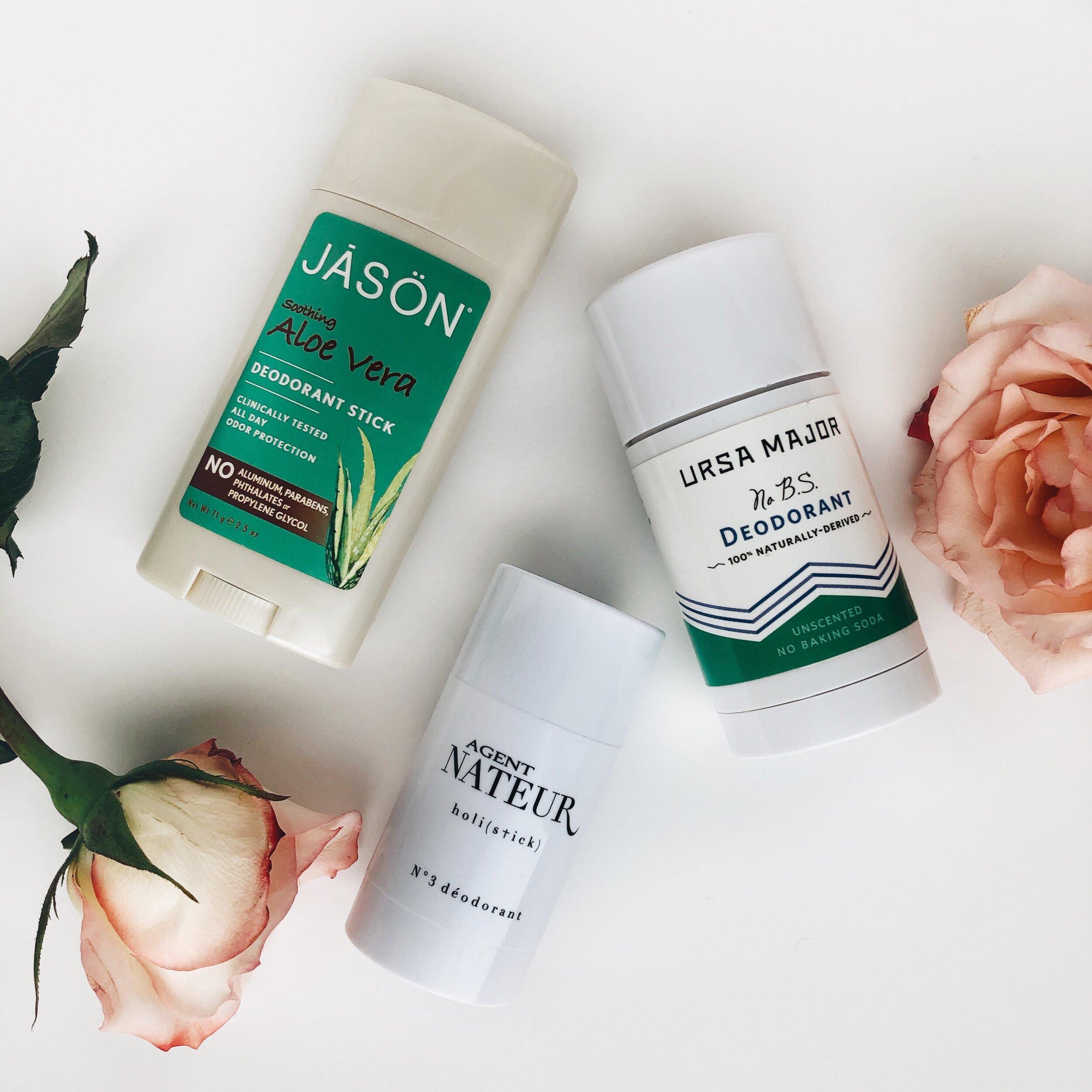 pregnancy-safe natural deodorants