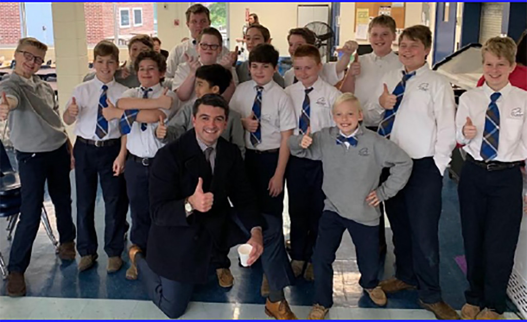 Holy Rosary Academy Principal and Class