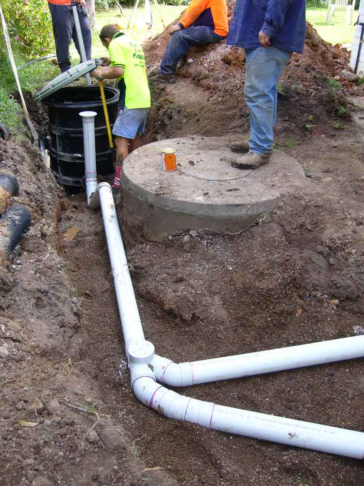 - A Pressure Sewer System uses a sewage pump to transport wastewater, requires only shallow trenches and small-diameter pipes.