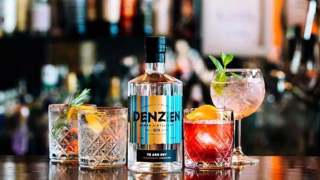 DENZIEN GIN - Urban distillery creating small batch gin from rain water in Wellington.