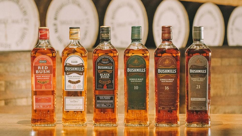 BUSHMILLS WHISKEY - World's Oldest Licensed Whiskey Distillery.