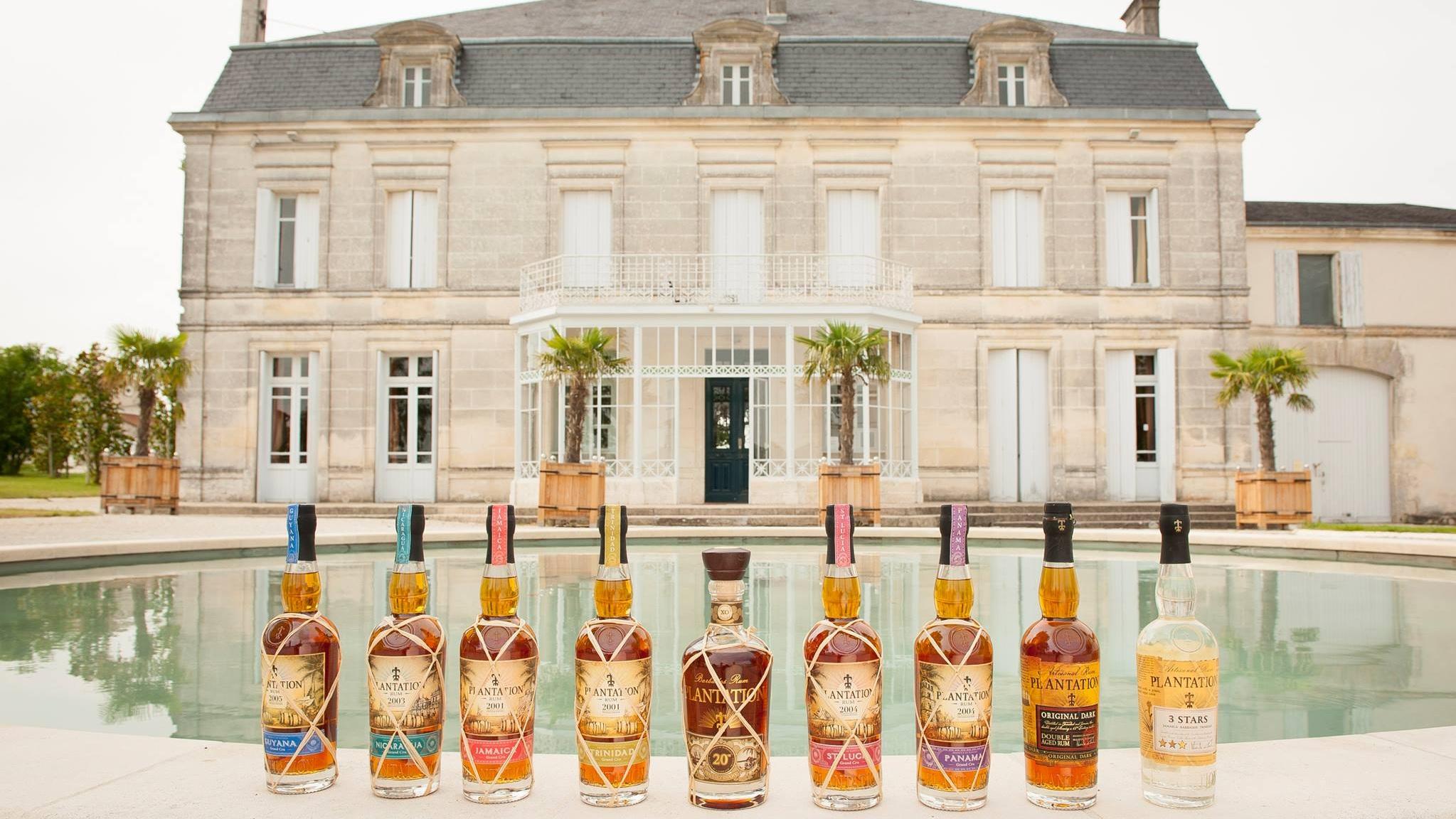 PLANTATION RUM - Rum finished in oak casks at the Maison Ferrand estate France.