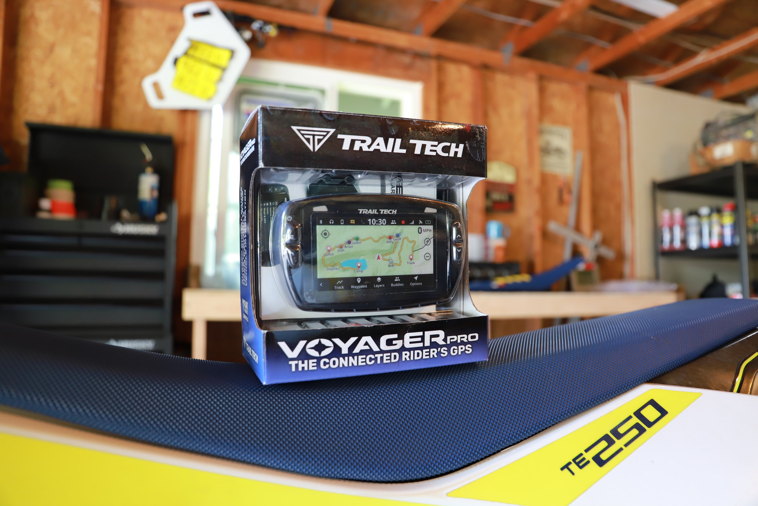 Trail Tech Voyager Pro just itching to be installed.