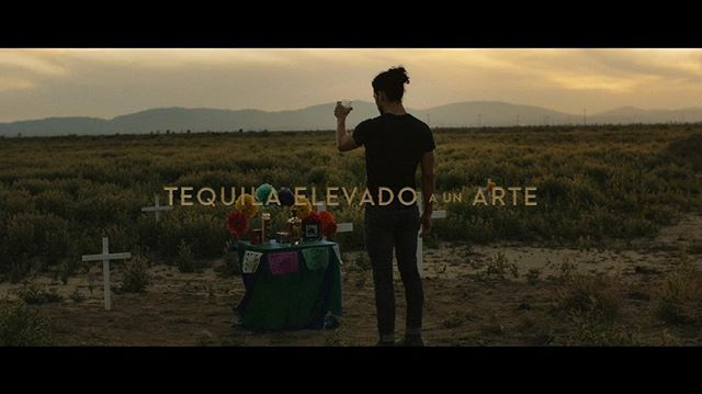 Elevate your art. Out in the desert shooting for @tequilaavion Dir. @worldsokayestfilmmaker . . . #still #arrialexamini #filmmaking #goldenhour #desert