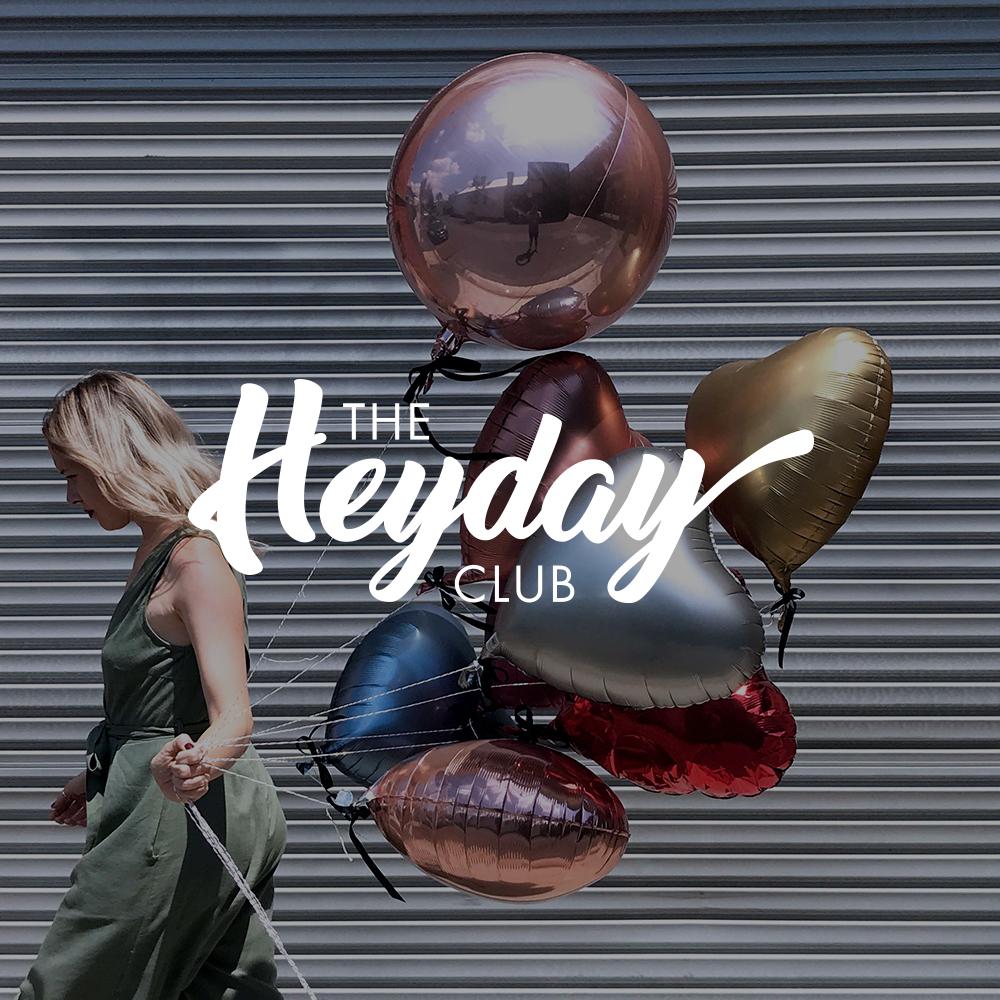 THE HEYDAY CLUB - LOGO DESIGN