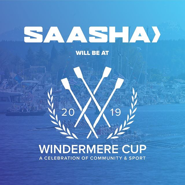 SAASHA will be TABLING at WINDERMERE CUP! Please stop by to learn more about SAASHA, pick up t-shirt orders, and celebrate community and sport! We can't wait to see everyone at the cut!
