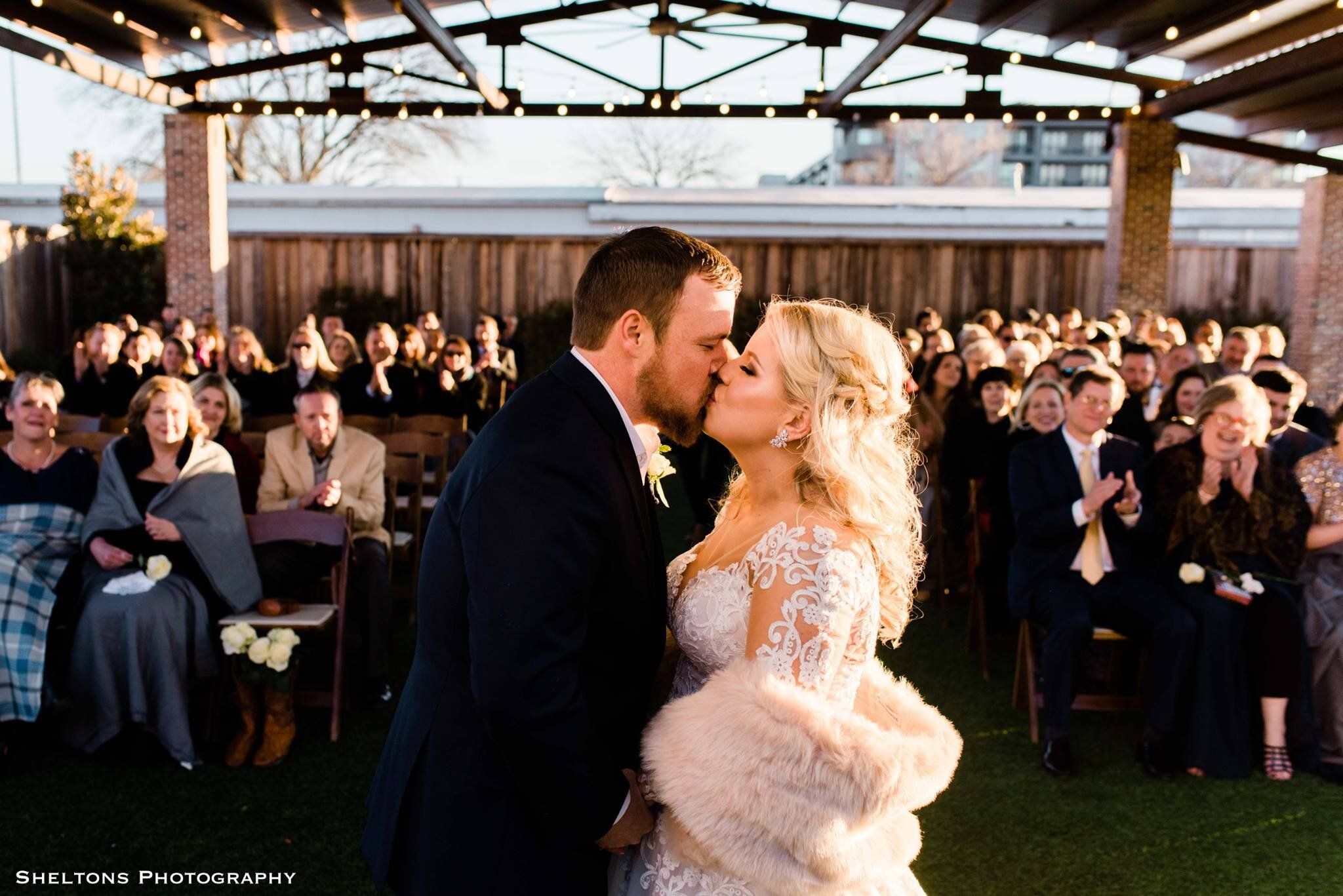 """Ashley Perry - """"Choosing Spencer as our wedding photographer is single-handedly the best choice we made during our entire wedding planning process. Not joking. We used him for engagements, bridals and the big-day (his assistant photographer was exceptional, too). I love capturing every memory I can on film, but am not always"""