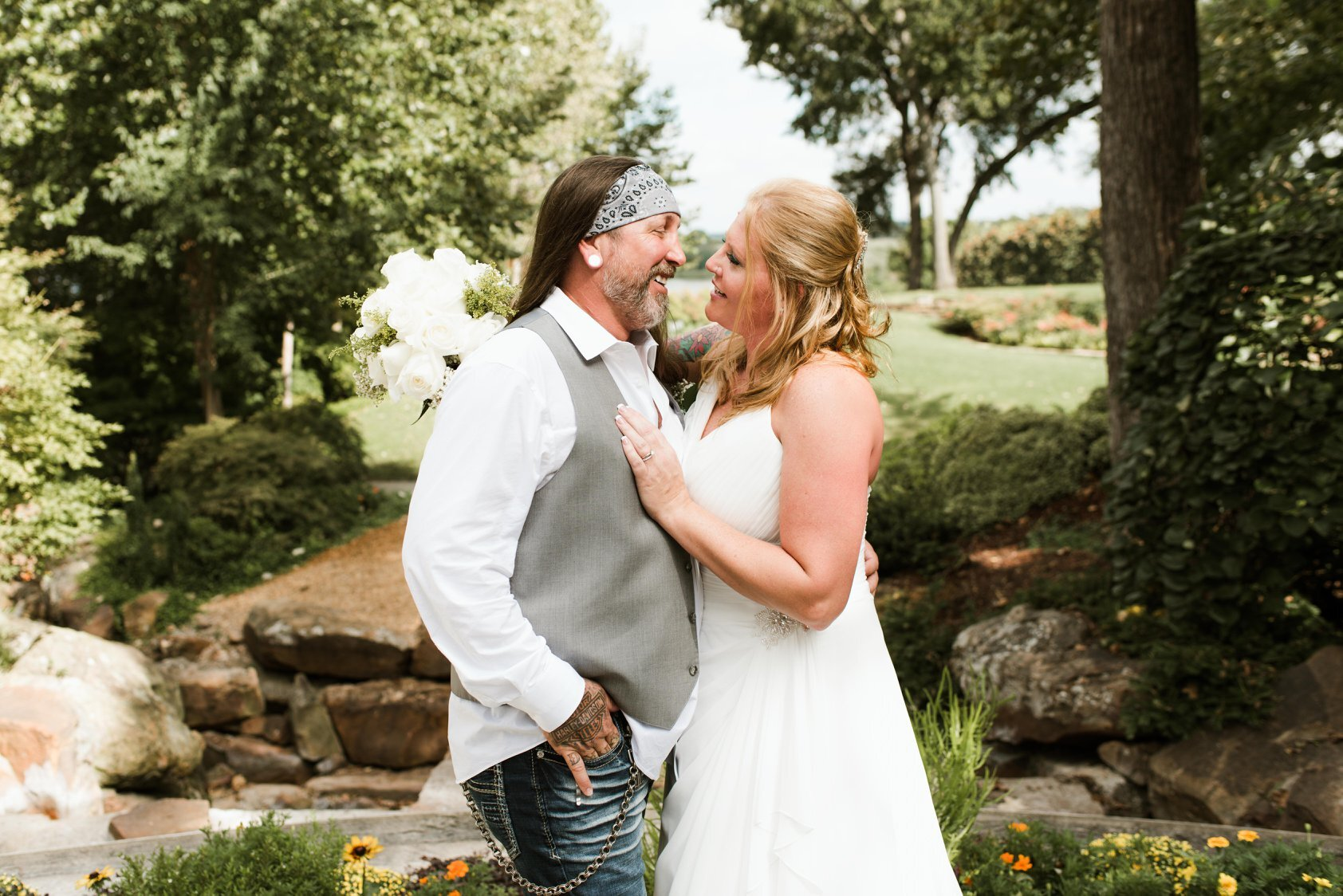 """Jason Stewart - """"Stewart WeddingShelton is very easy to talk to and blends in with the guest to get some really natural pictures ! We also loved his """"natural """"posed shots . It was a wonderful experience overall!"""""""