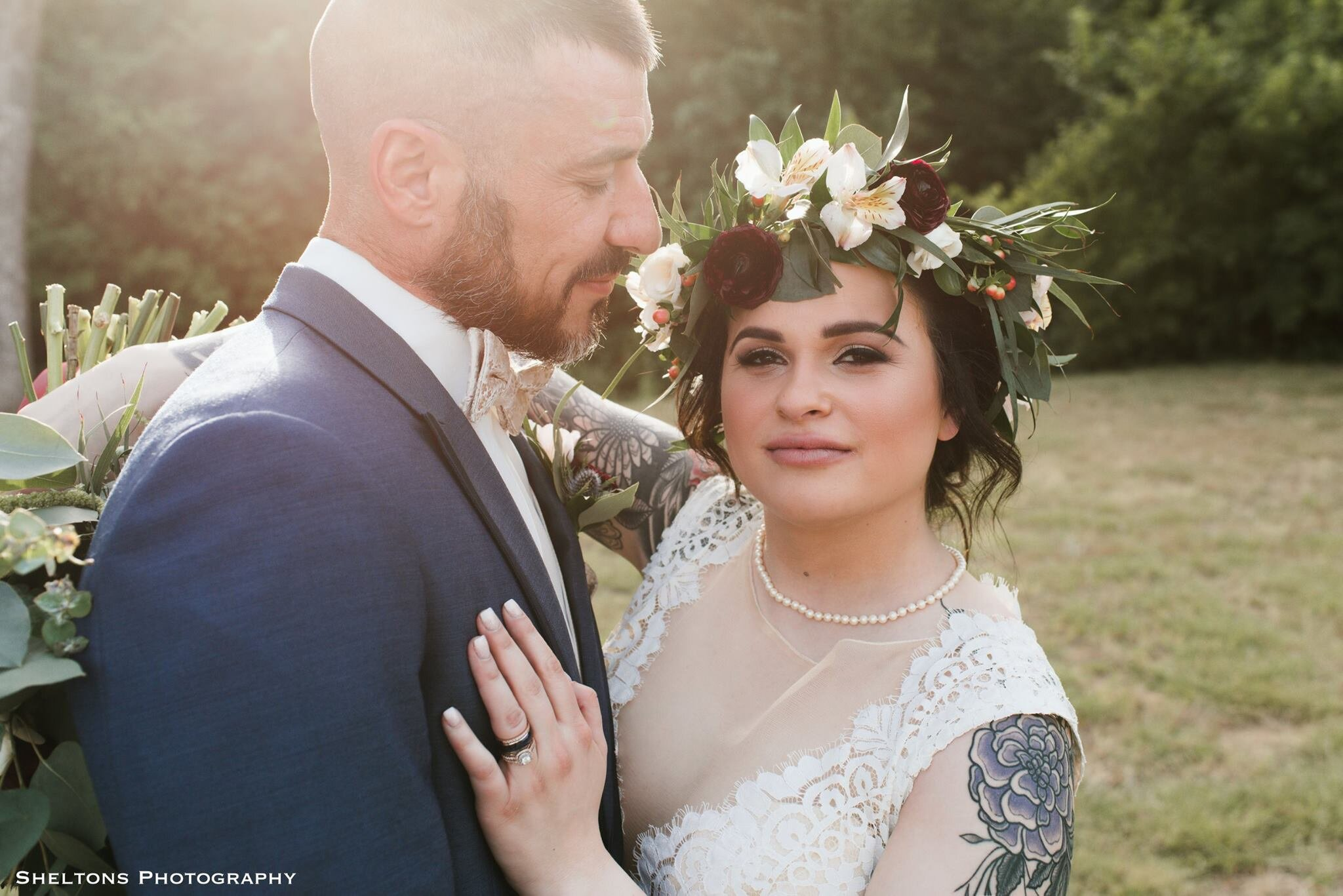 """Lora Murphy + Alex Mulholland - """"Best Photography in DFWI have used Shelton's Photography for over 10 years and I always love everything they do. Very professional and creative for memorial and beautiful photographs."""" - (Mother of The bride)""""I would recommend Spencer to anyone!"""" - (bride)"""