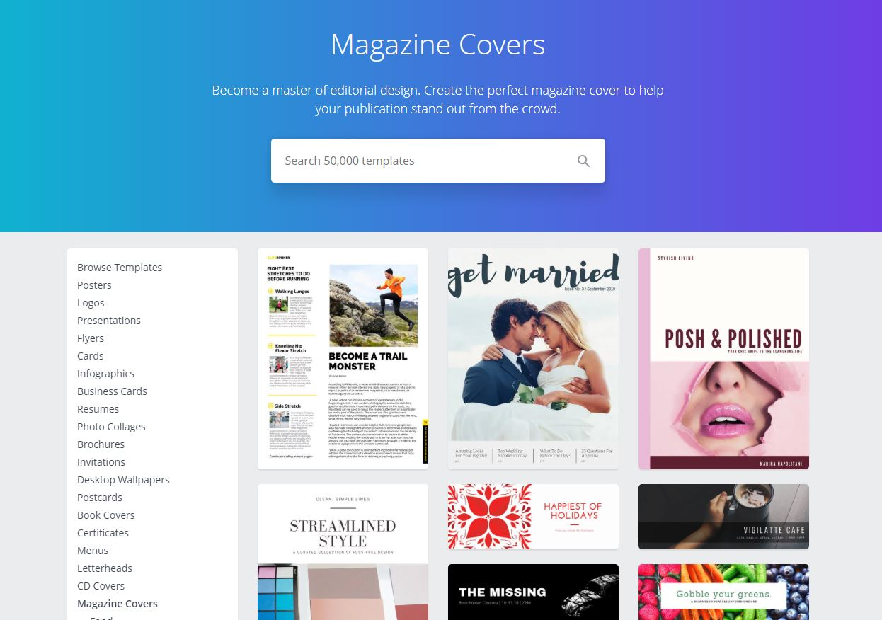 You technically  can  create magazines in Canva. But I wouldn't recommend it!