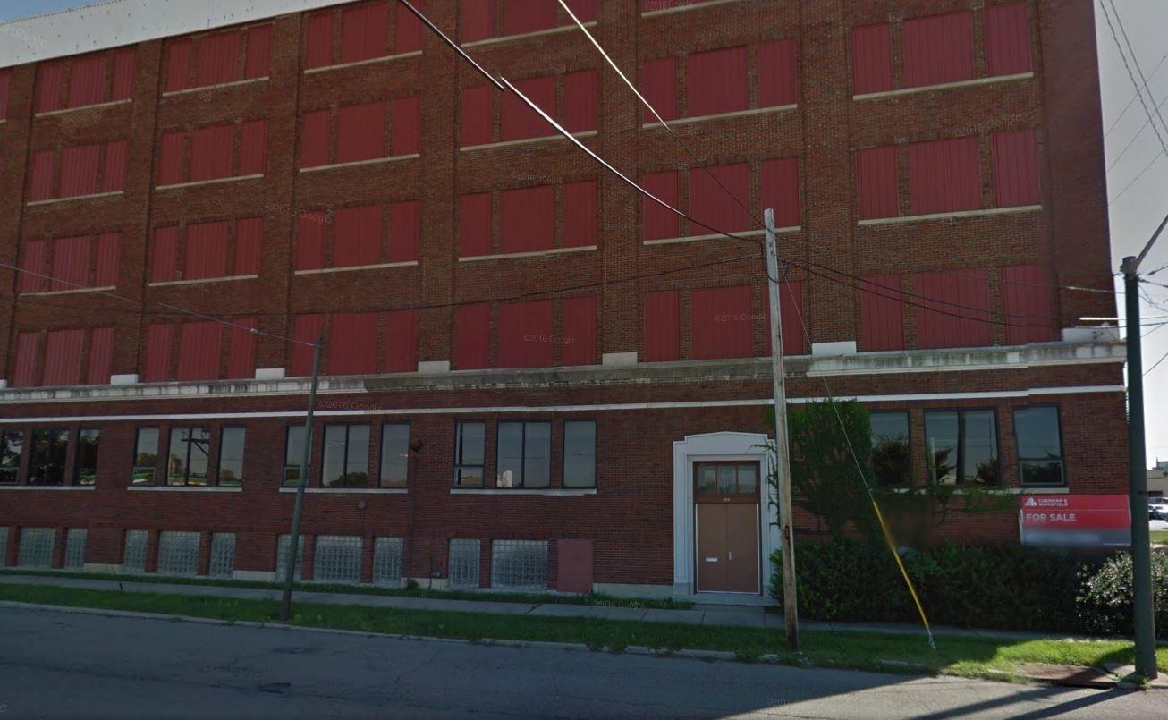 The original building was mostly unused storage space