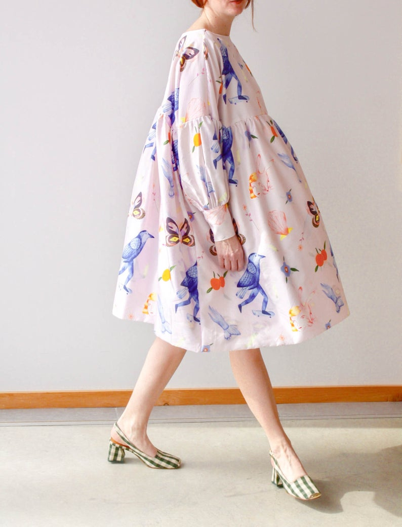 Noehmia butterfly dress