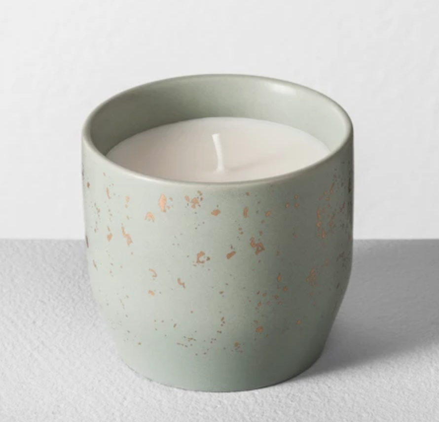 Candles - The look and smell of these candles are perfect. All priced under $7.00.