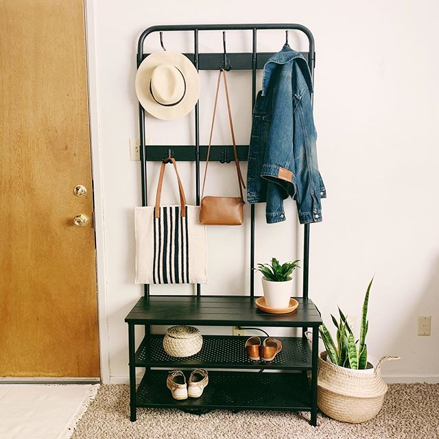 ✨What do you do when you don't have a coat closet?✨ . First, I think every household needs a drop spot to dump all the items when you first walk into the door. When you don't have a ton of space or a coat closet, @ikeausa comes to the rescue with this awesome storage solution. It's sleek and useful. Goes with almost any decor and gives you an instant drop spot for $89.00! Definitely, one of my favorite finds. Granted it may not always look like this but it sure is functional and holds a ton of stuff. This would go great in a garage too right by the door. It's called PINNIG. . . Shop this post -  http://liketk.it/2Ed4R #liketkit @liketoknow.it . . . #LTKhome #simplystyleyourspace #mycuratedaesthetic #howwedwell #currentdesignsituation #apartmenttherapy  #livingroom  #sodomino  #storagesolution #simplehomestyle #mybohoabode  #hyggehome #homedecorblogger #affordabledecor #bohodecor  #myhyggehome #currenthomeview  #interiordesign #bohointeriors #modernfarmhouse  #inspireushomedecor #targetstyle  #ikea
