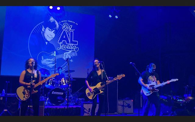 We're honored and grateful that we could make some noise for Big Al Sevilla last Sunday at the 9:30 Club. Thanks to everyone who was there working and attending and there in spirit ��🔺�� Photo: @__.claudita__