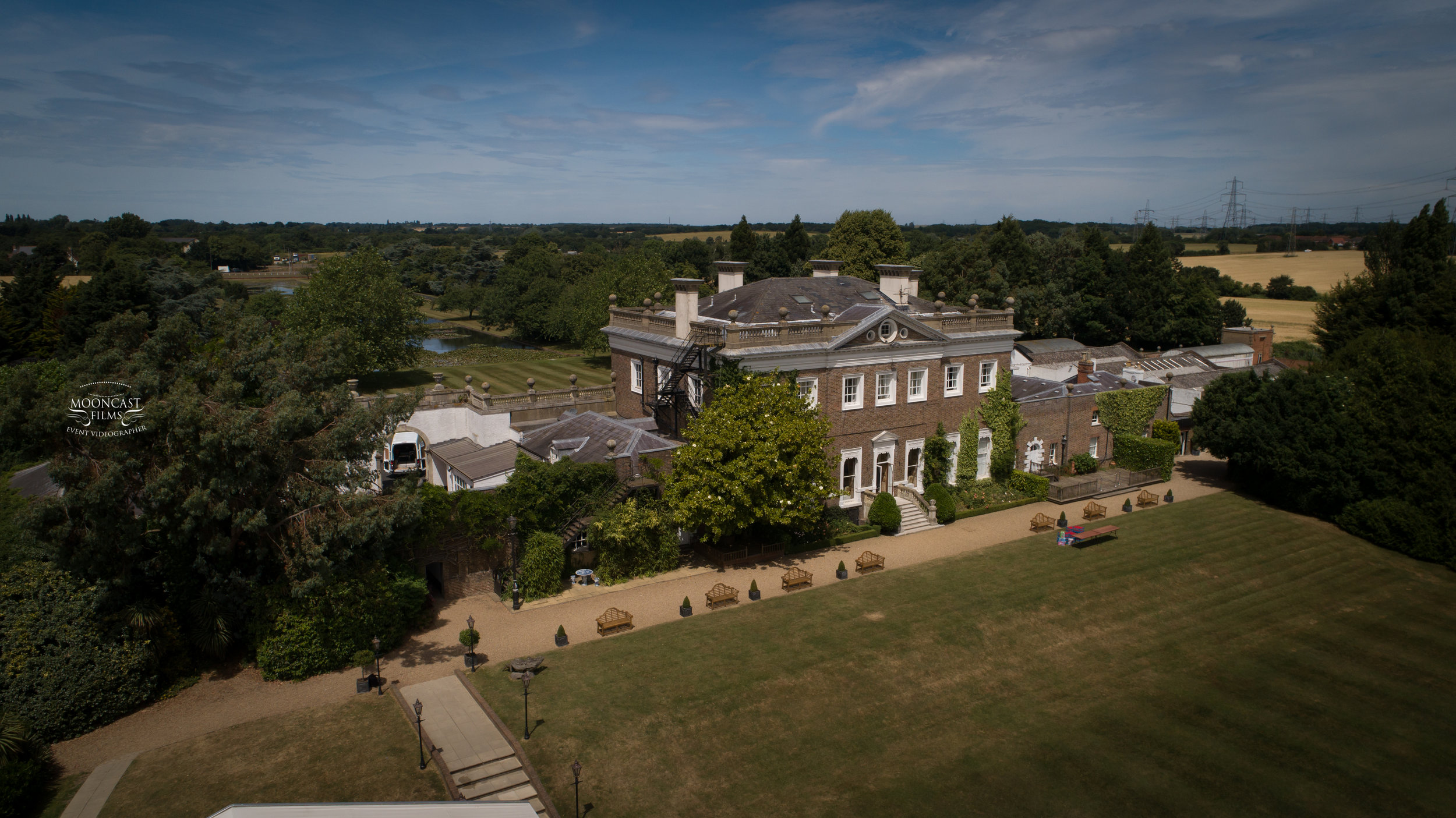 Boreham House Aerial Photo