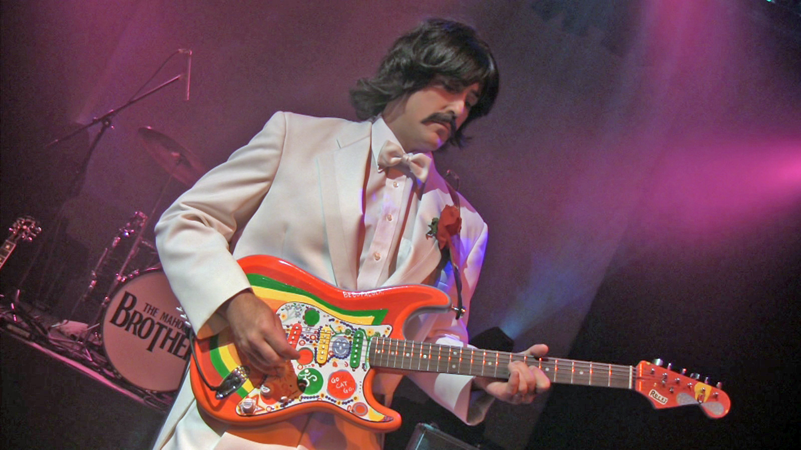 Jay Swanson as George Harrison