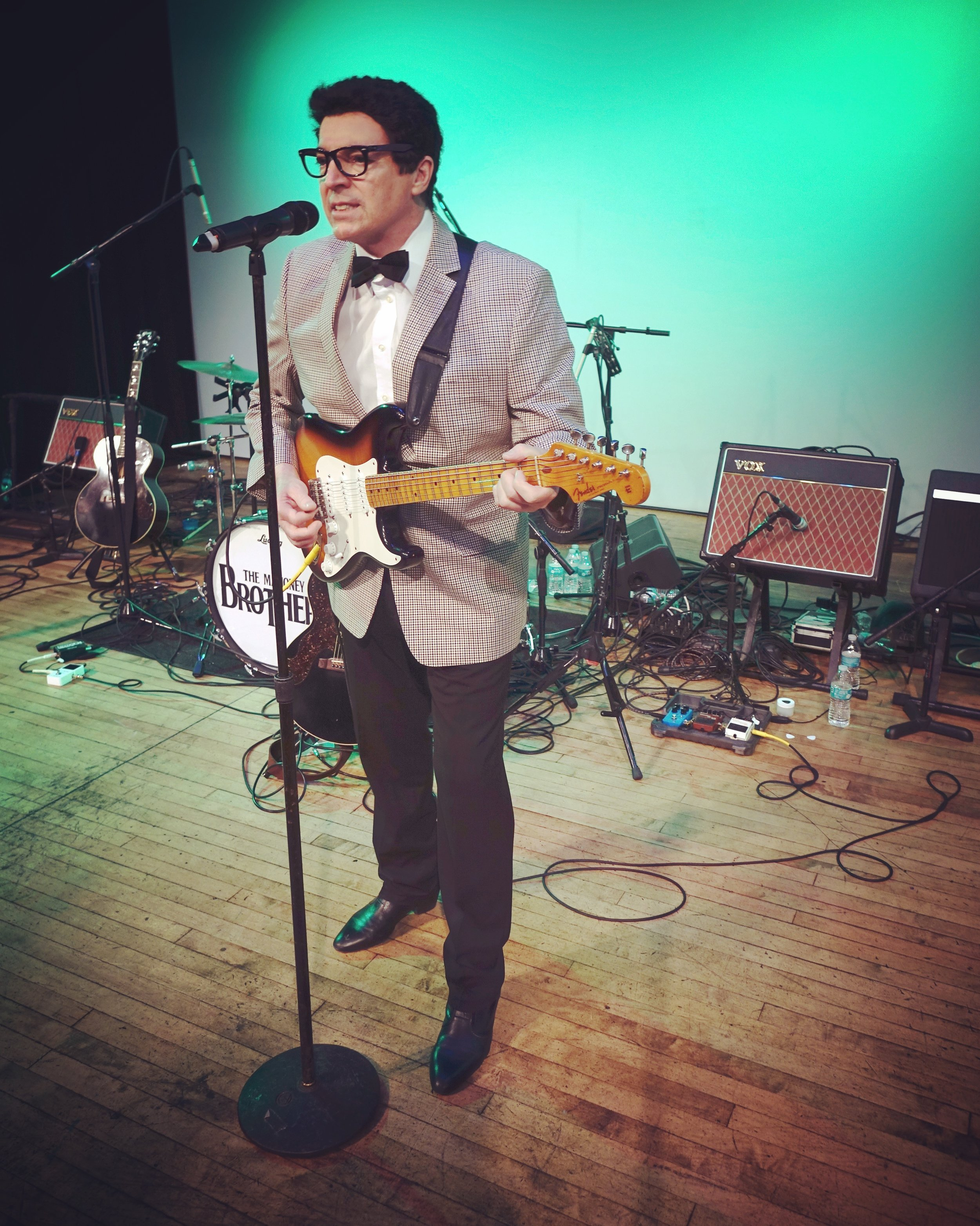 Brian Mahoney as Buddy Holly