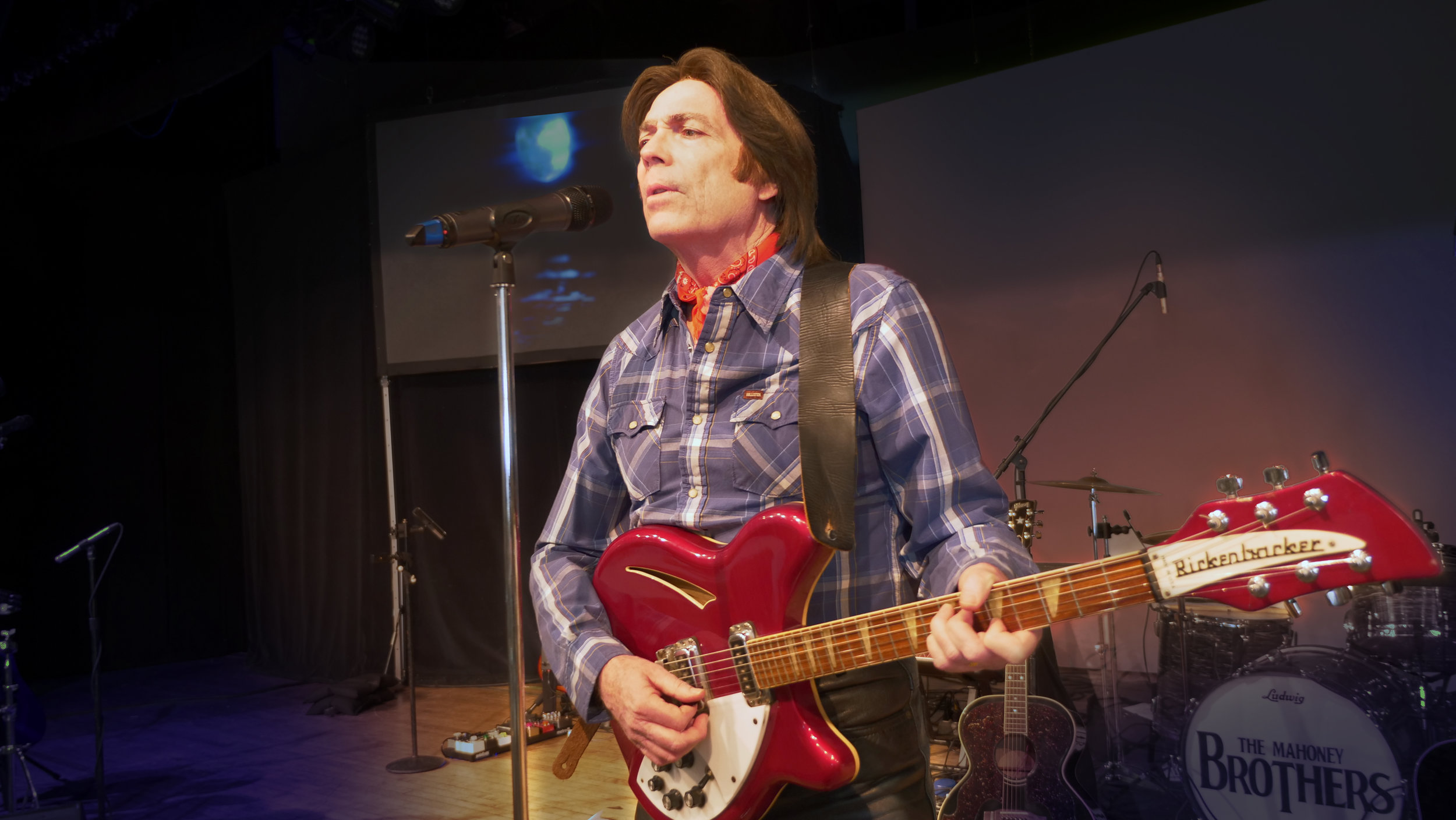 Tim Mahoney as John Fogerty (Creedence Clearwater Revival)