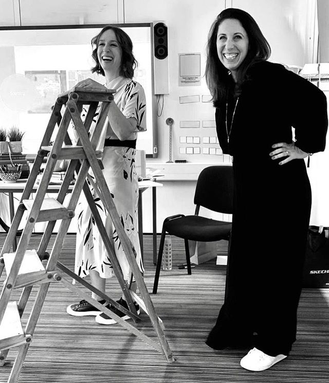"This shot perfectly captures how much we enjoy running our styling workshops. . Thanks for the action shot Justin @design_at_nineteen during our Saturday workshop at @interiorjunction all about ""How to use everyday objects in unusual ways"". . Fabulous meeting so many new people and familiar faces too, a brilliant bunch of participants! Lots of laughs, chat, styling, tips and tricks... and of course getting a few volunteers to style a vintage ladder. As you do. You did brilliantly Peter @thespacemaker_interiors and Karen @karen_barlow. . Thanks to all our participants. We loved having you and if we haven't tagged you please  M E S S A G E  U S or comment below, as we didn't get all your insta names. . A huge big hug and thank you to the @interiorjunction team! @keeleytara @joy_interiors @cabynhome. You ladies rock!. . AND...our next hands-on styling workshop will be in November in North London. Date coming soon. Please  C O M M E N T  B E L O W  if you're interested in joining us? Includes a sourcing guide (new and improved), brunch, Prosecco and goody bag."