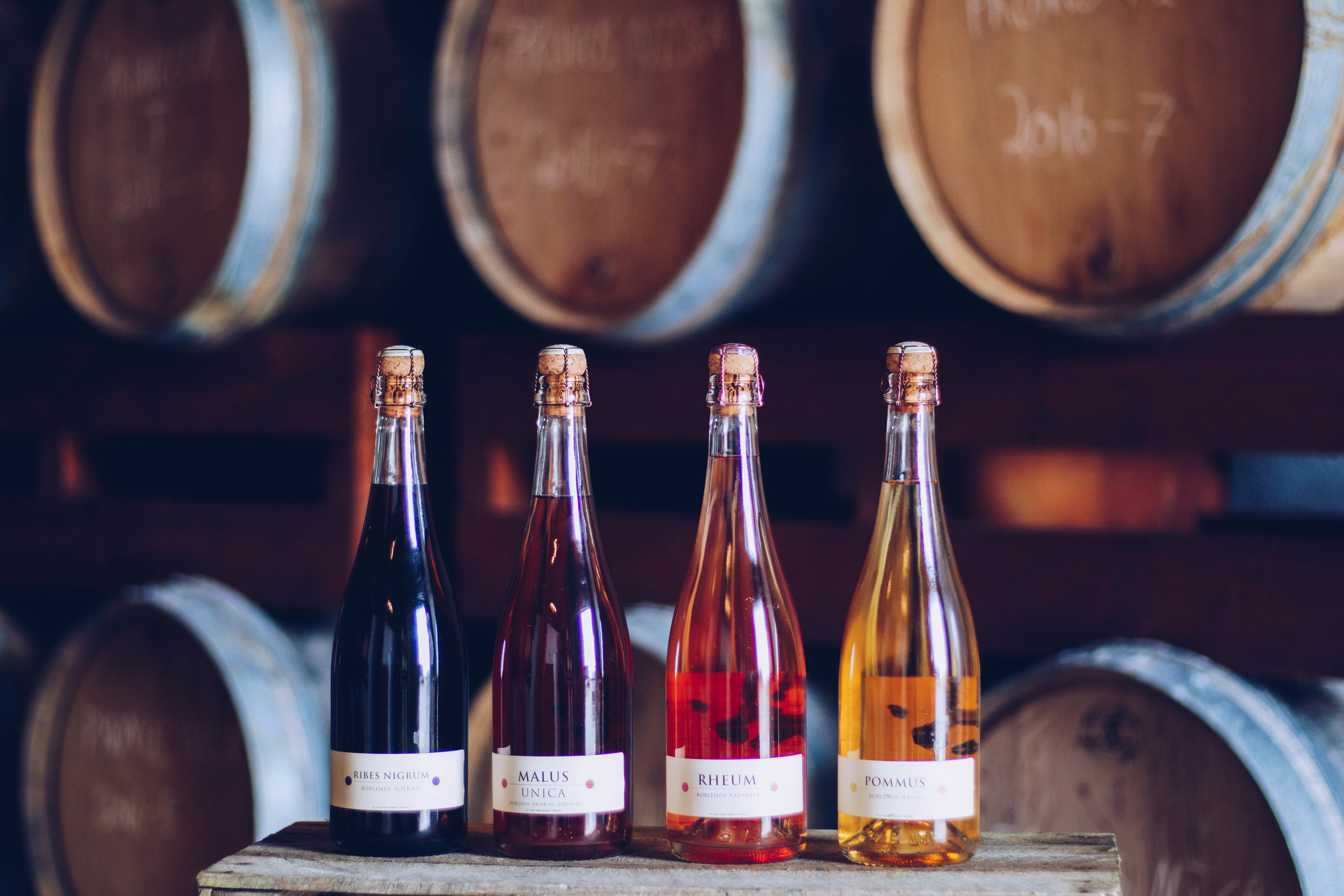 4 bottles of Cold Hand wines