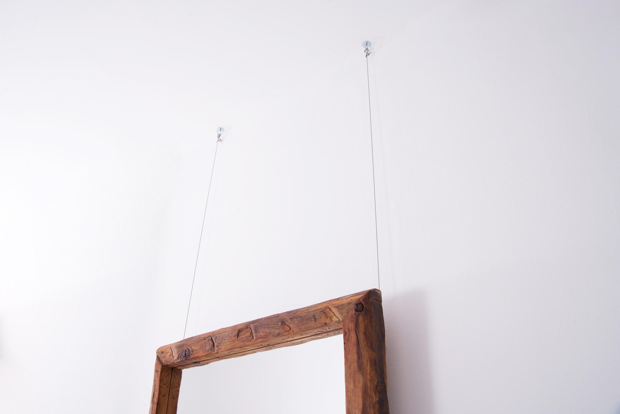 anclajes con cable de acero al techo -