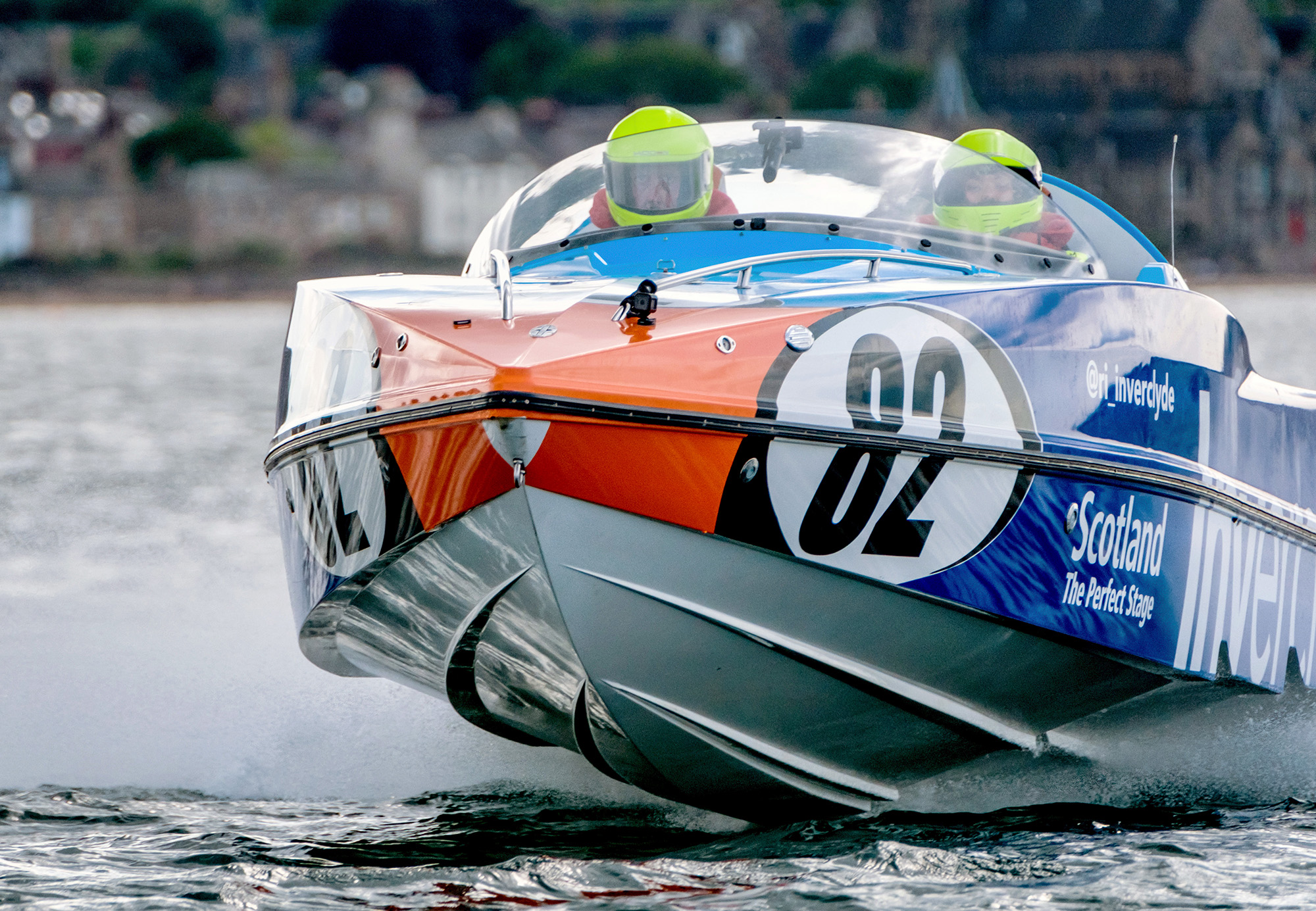 P1 SUPERSTOCK POWERBOAT RACING    Shooting behind the scenes with one of the leading crews in the 2017 P1 Superstock Series