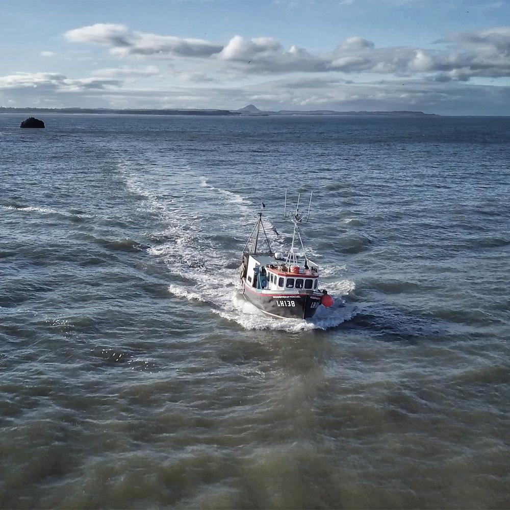 ROCKHOPPER OF PERCUEL    A new project following the Rockhopper of Percuel, a Dunbar fishing boat.