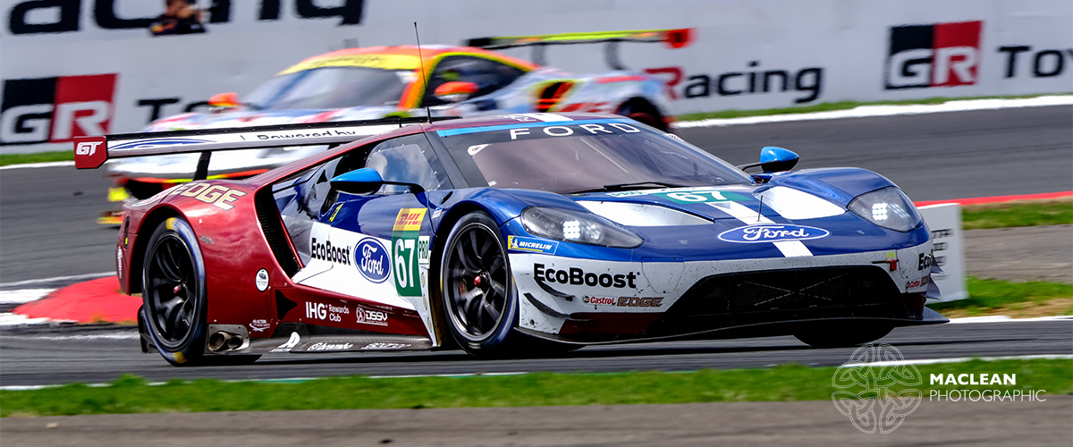 Andy Priaulx - Ford GT     Fujifilm X-T3 + XF200mm f2R OIS WR + 1.4x converter 1/320s @ f7.1 ISO100
