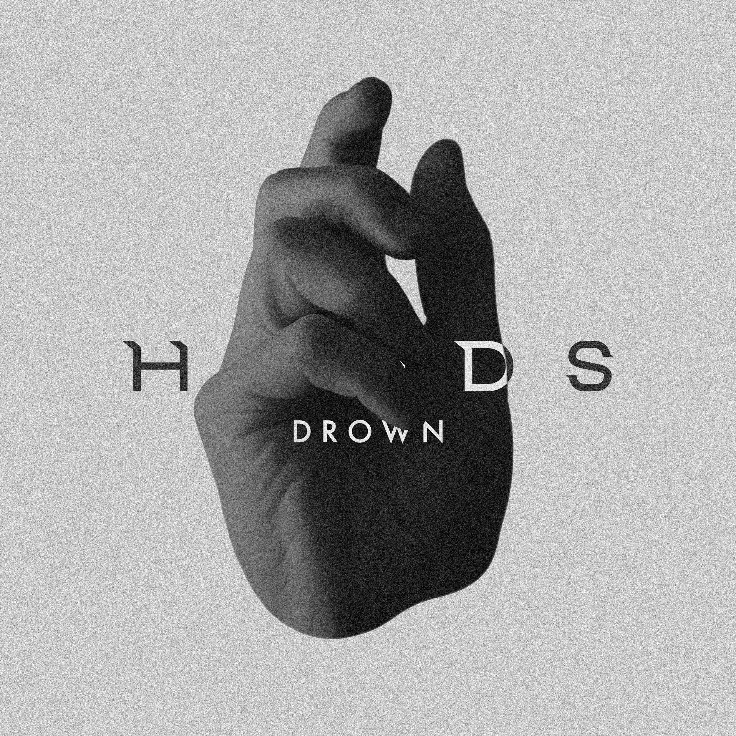 Artwork voor 'Drown', een single van HANDS.