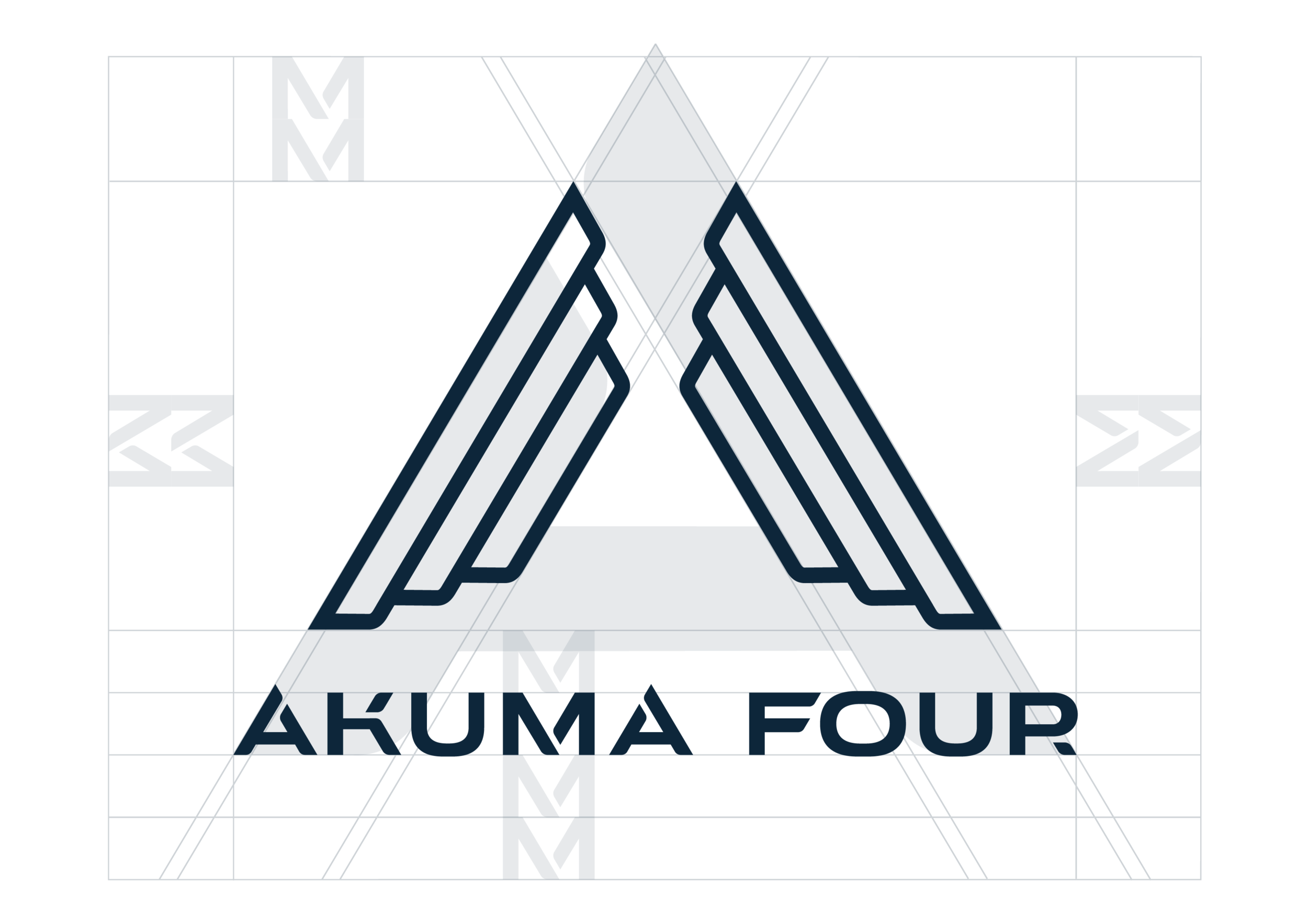 Akuma Four - Logo Grid