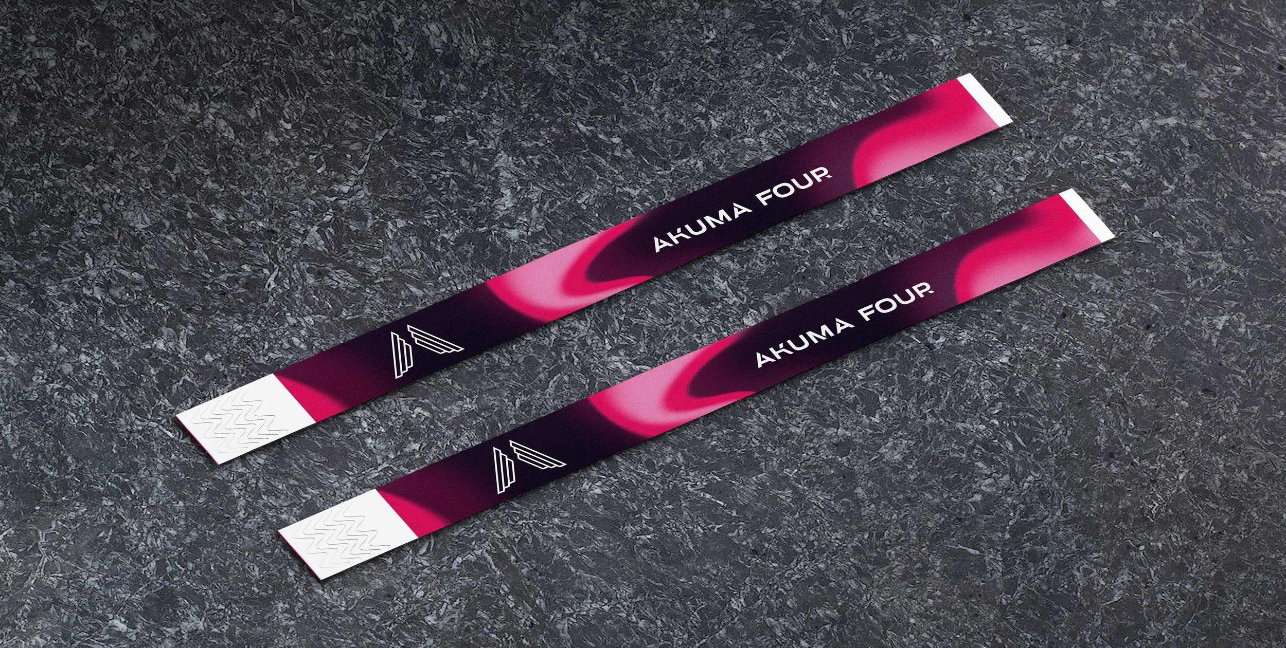 Akuma Four - Wristband Ontwerp
