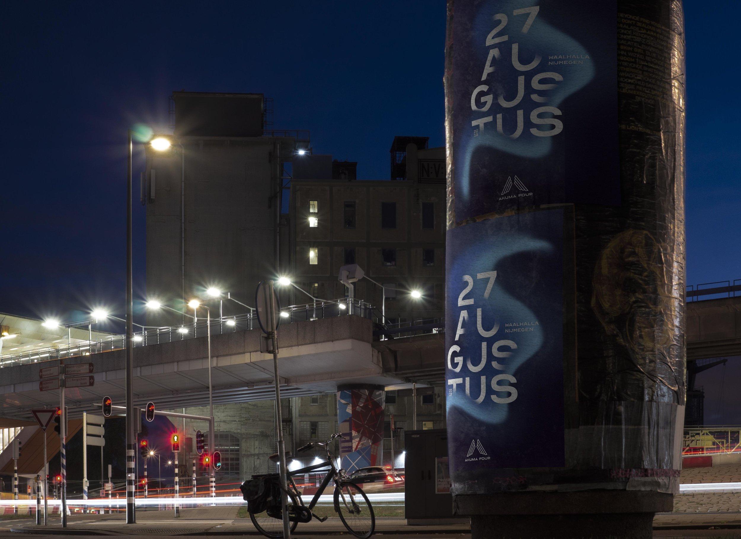 Akuma Four - Poster Design