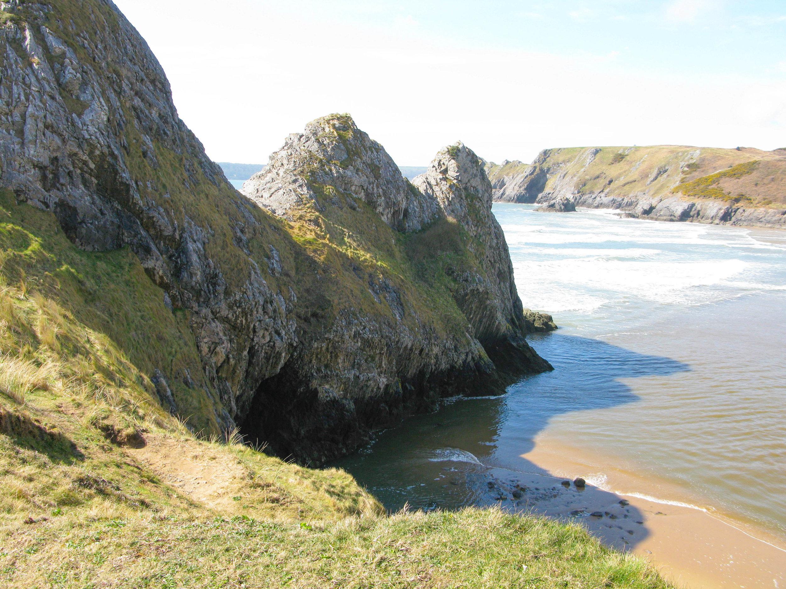 Three Cliffs Bay