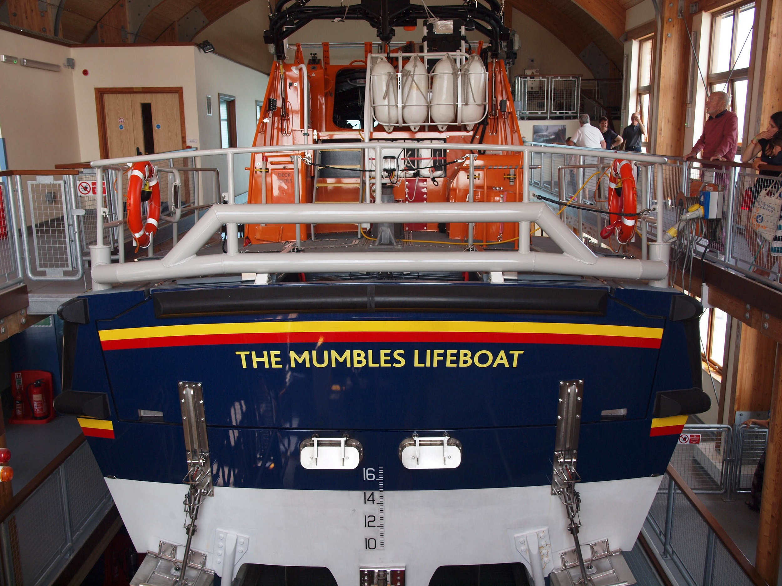 The Mumbles Lifeboat: ON1307 Roy Barker IV