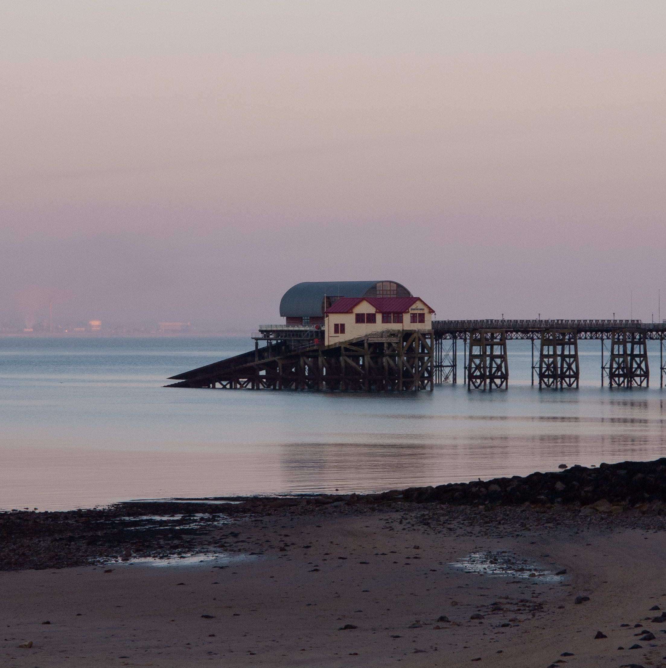 Mumbles Pier & Lifeboat houses (Old and New)