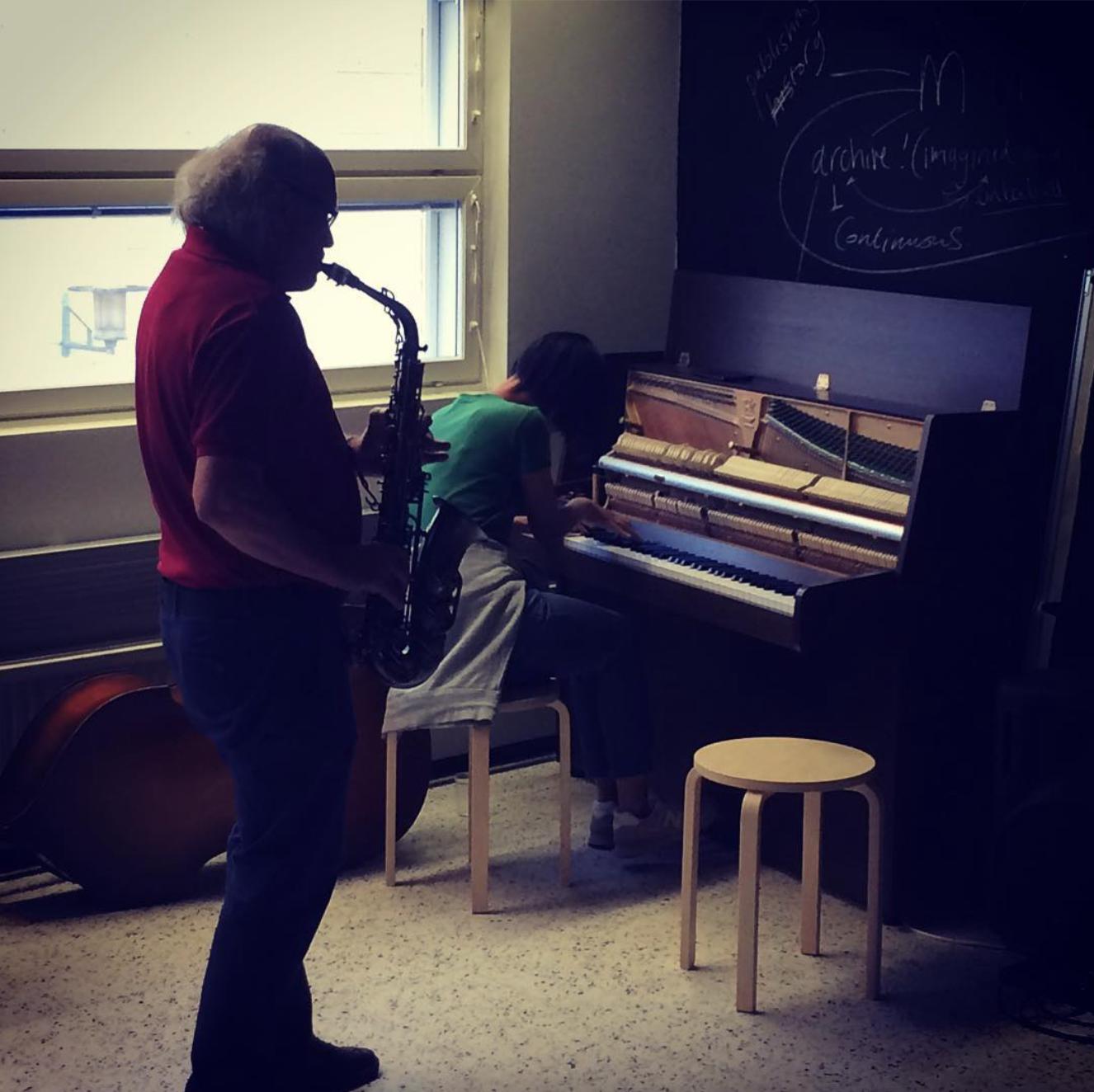 Improv Sessions: Werner Fischer
