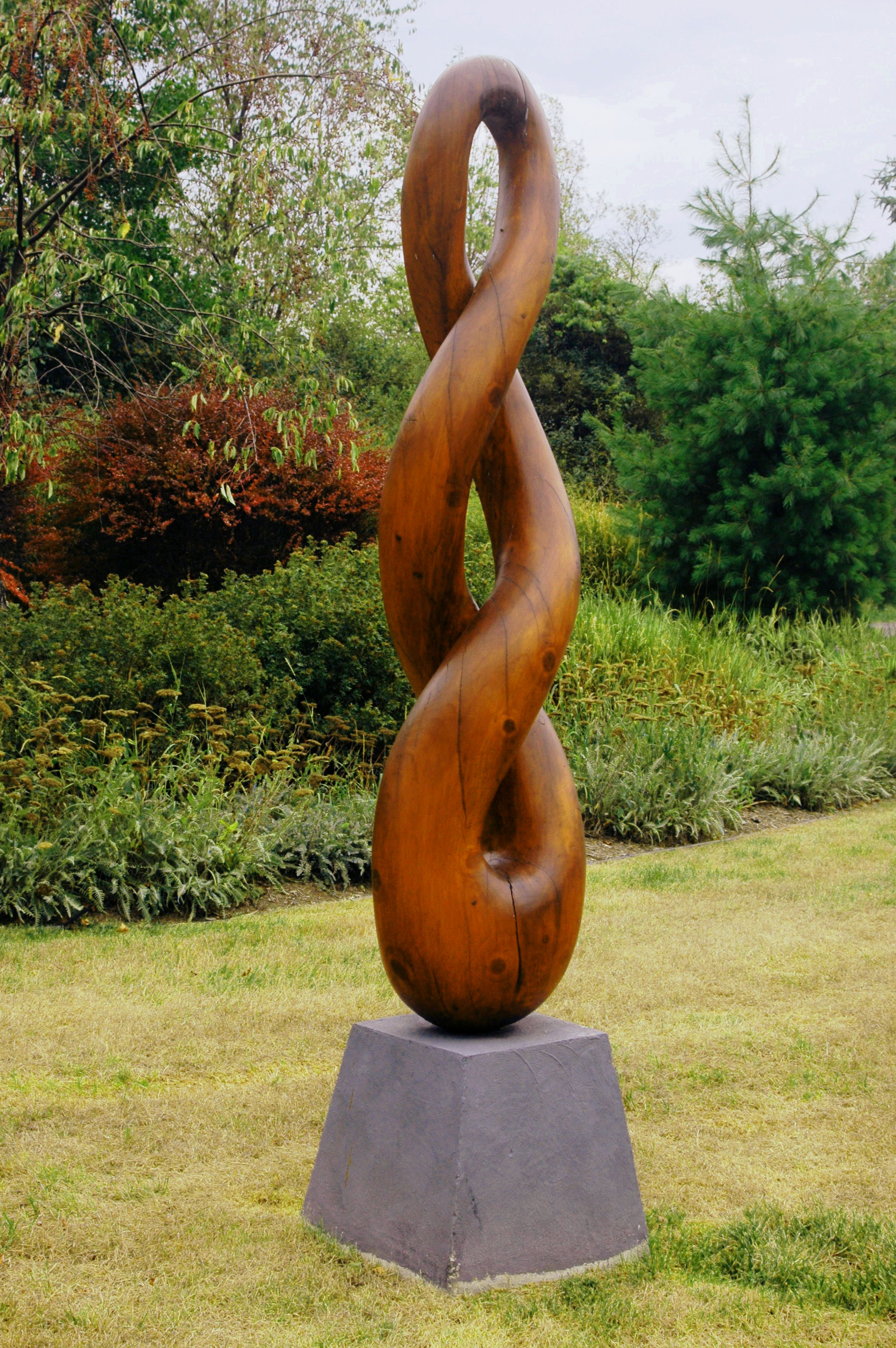 Pretzel outdoor sculpture