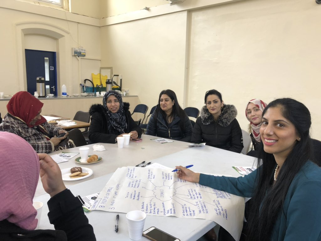Some of the participants at the event in Bradford.