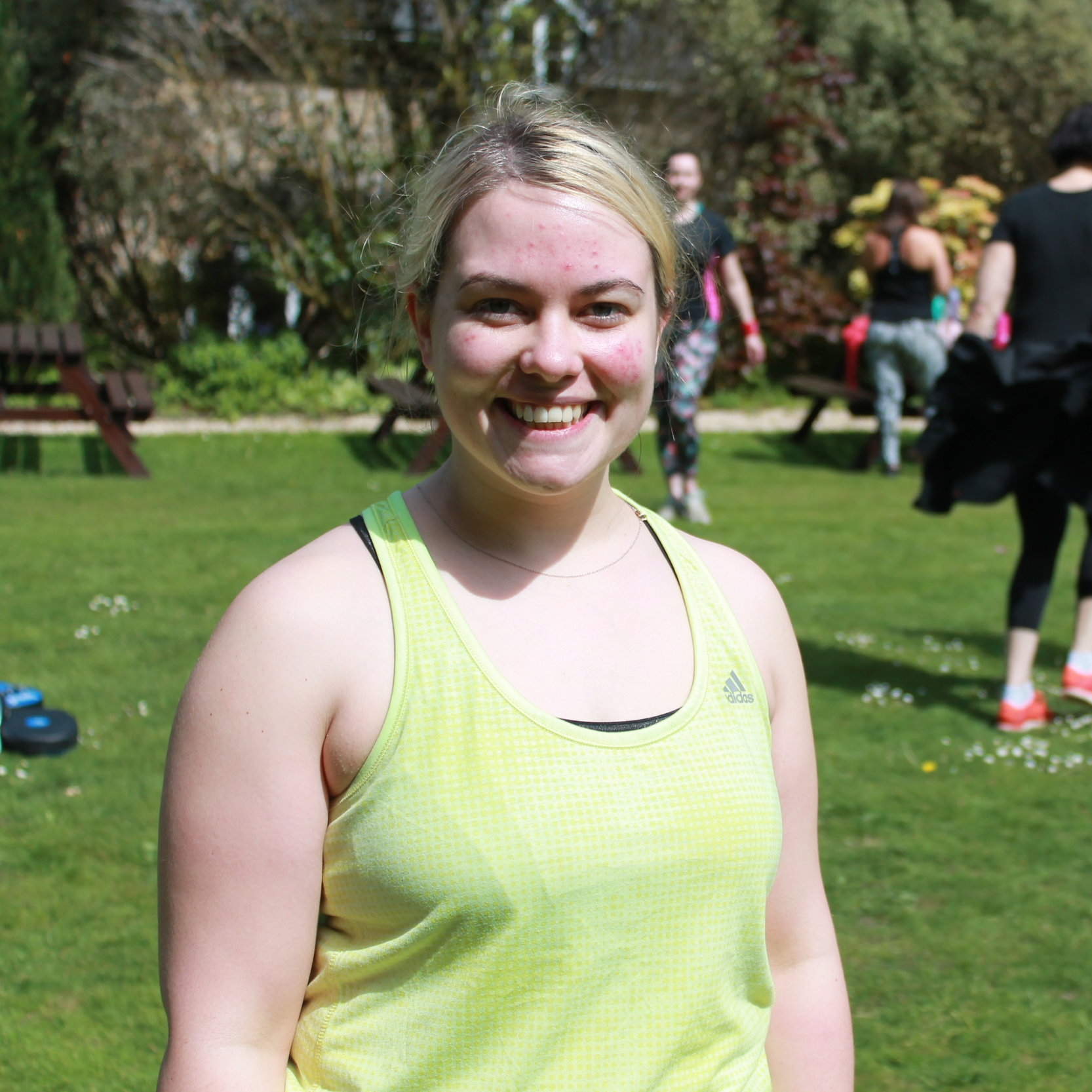Victoria - Victoria had been on residential boot camps before, but didn't want to give up a whole week to shift unwanted pounds.Vikki came on a 4-day boot camp and lost 4.6lbs (2.1kg)She says: