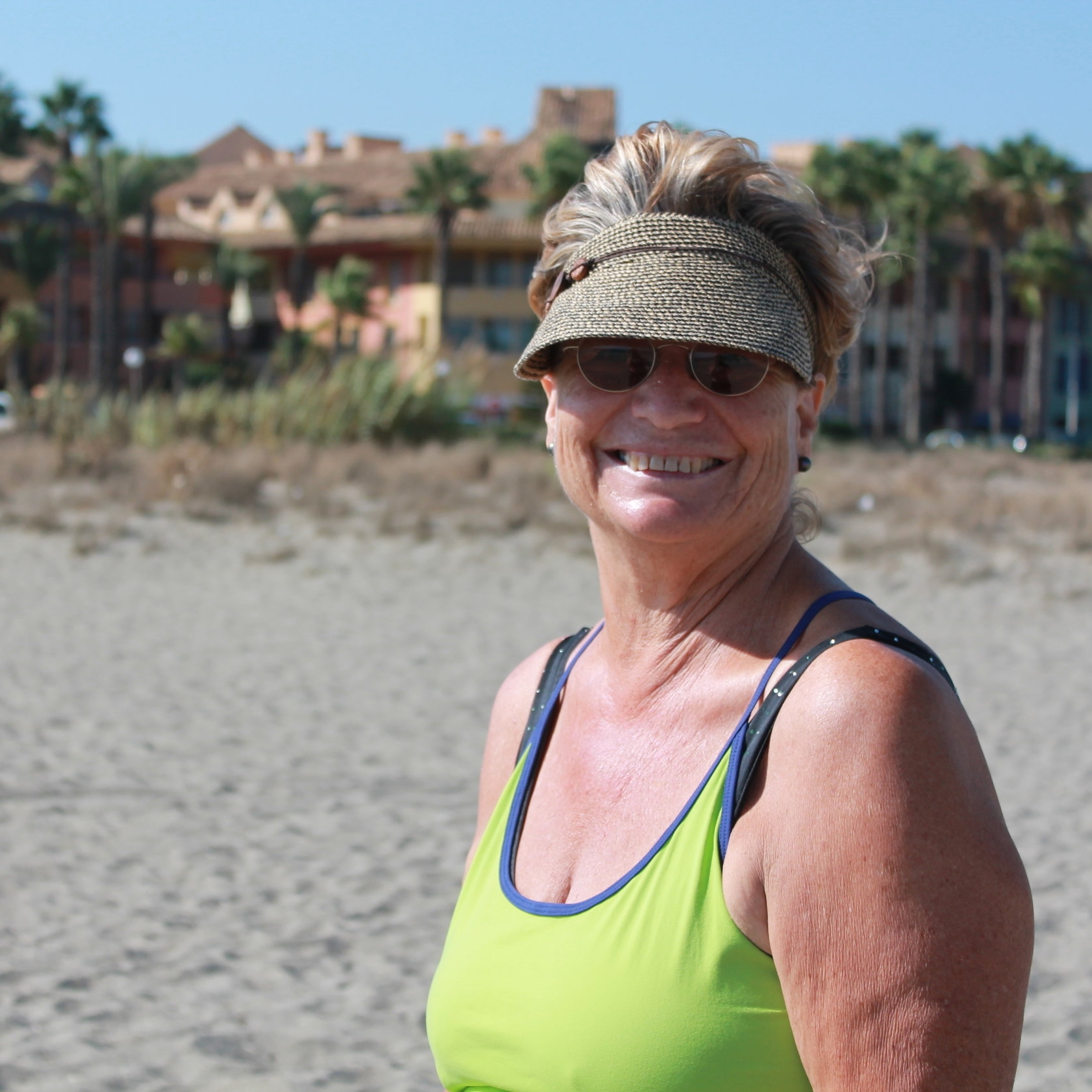 Mandy - Mandy is a true fitness enthusiast. She threw herself into every activity with glee and even conquered the Mediterranean Steps in Gibraltar which was a personal goal of hers.She was thrilled that she lost 4kg on our 7-day fitness retreat in Spain.