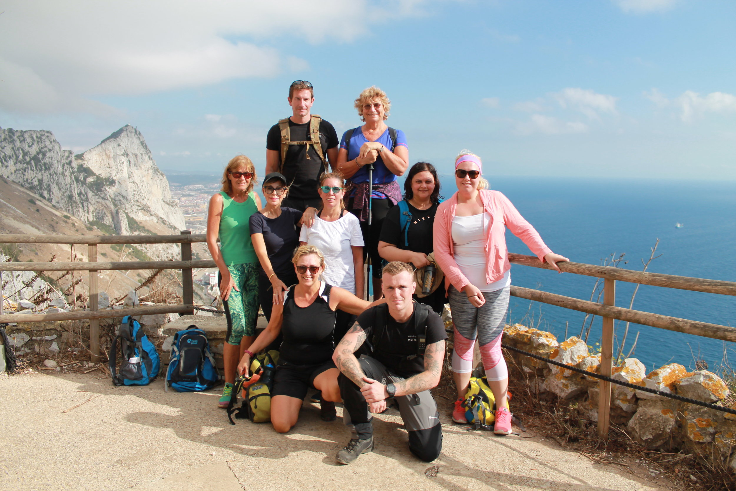 Gibraltar Mediterranean Steps - Fun and fitness combined for our retreat