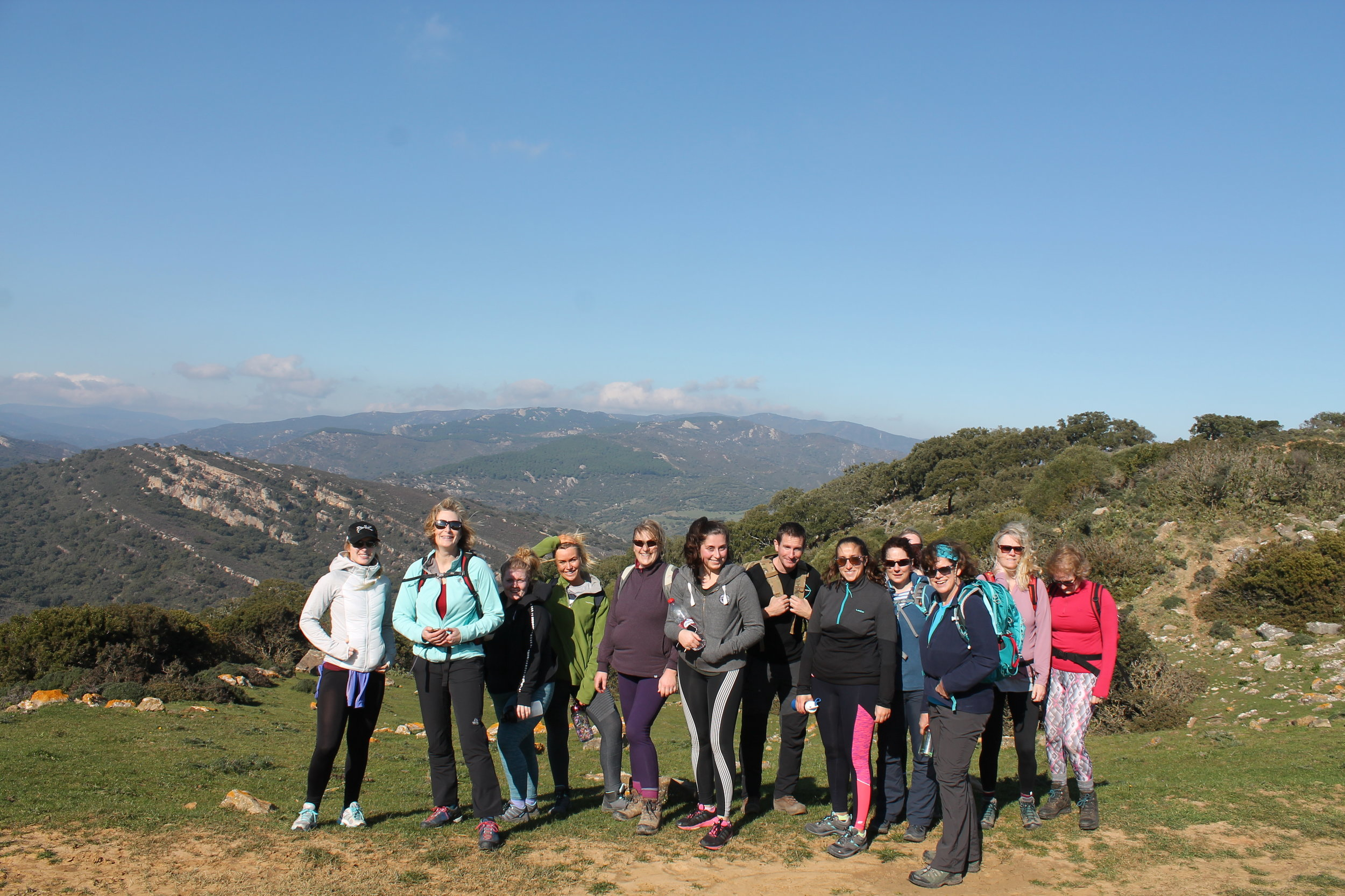 Hiking in the national park - a great fat burning activity on the Who Dares Slims Boot Camp