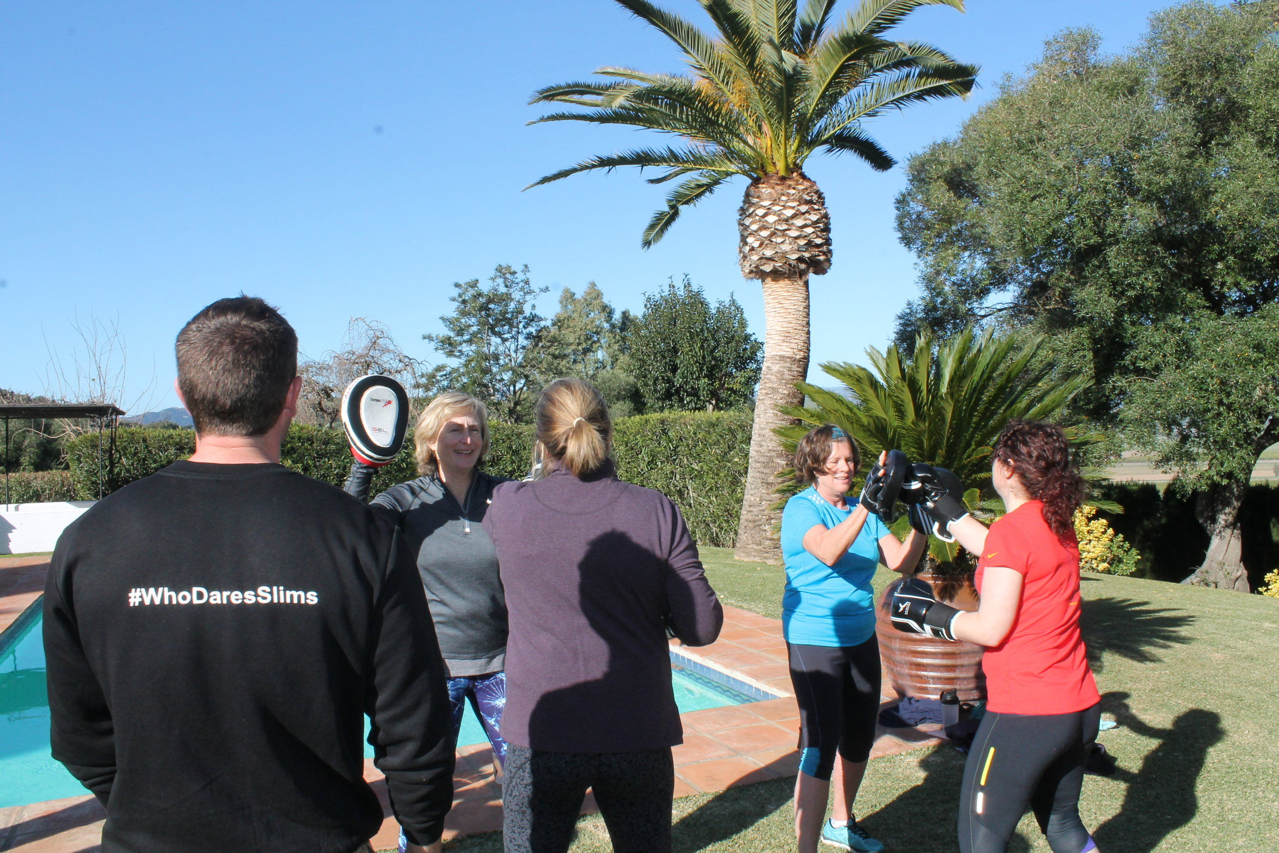 Weight loss retreat near Marbella