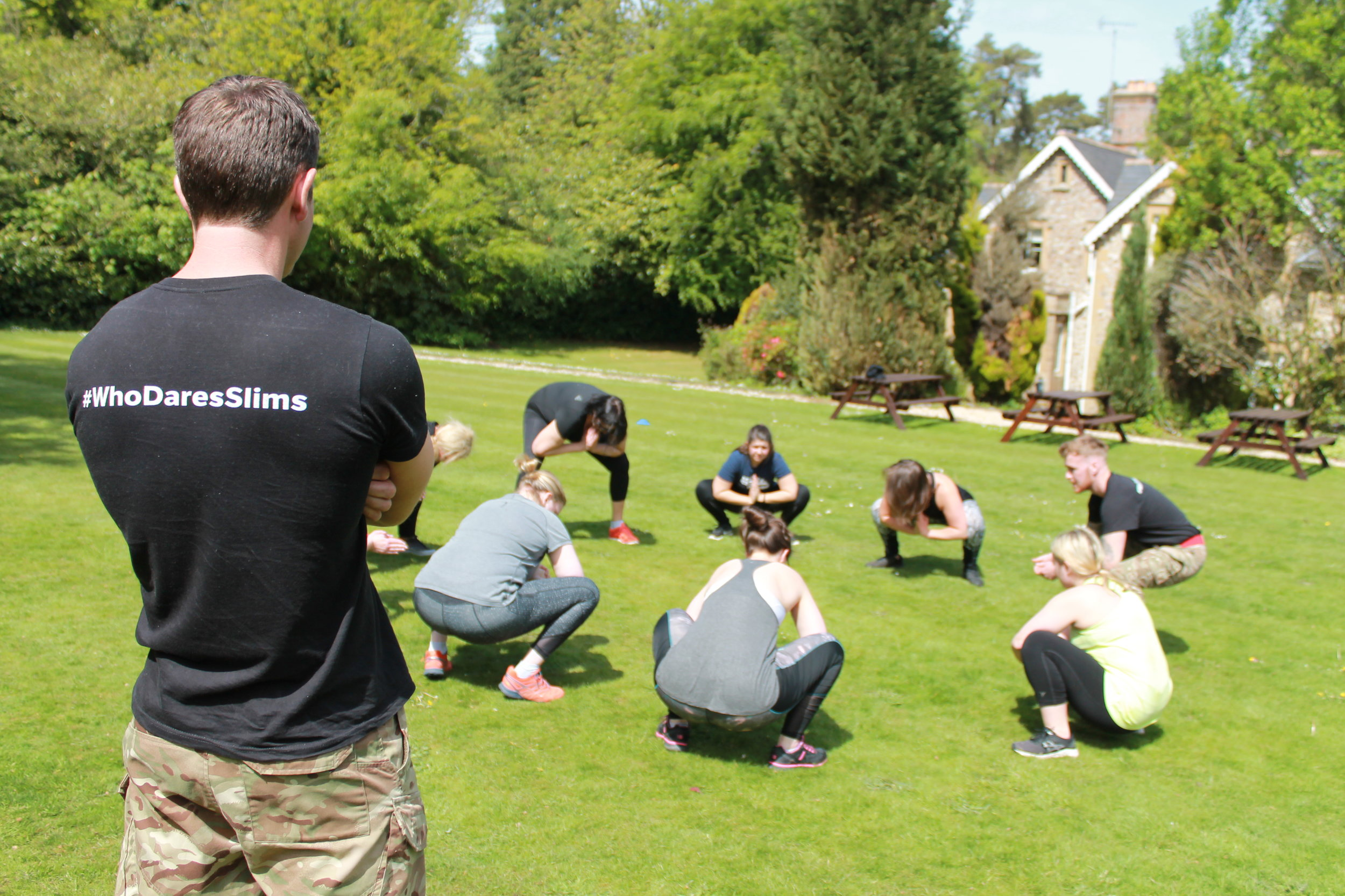 Who Dares Slims fitness and weight loss boot camp in Scotland